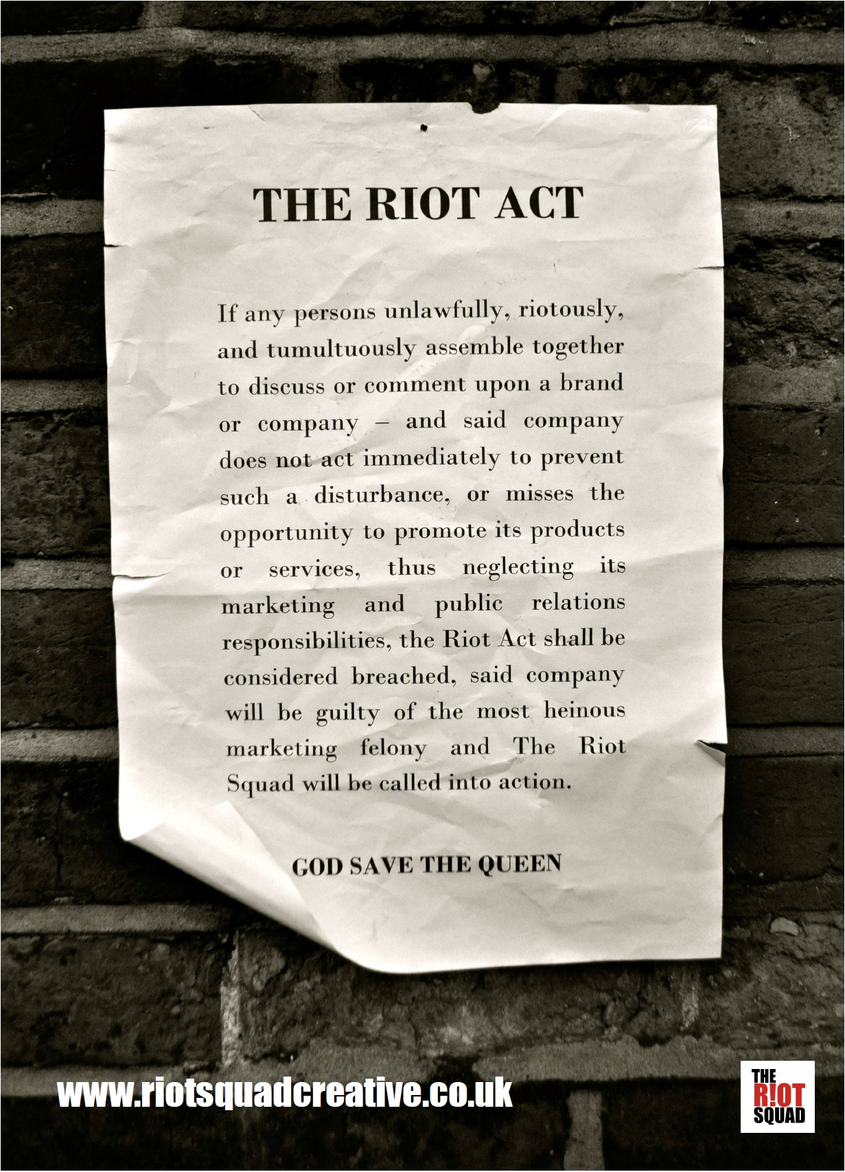 read the riot act Definition of read the riot act to someone from the collins english dictionary subordination when two or more clauses are joined by a conjunction other than and, but, or, or yet, one of the clauses is the main clause the other clauses are subordinate clauses.